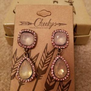 NEW Cheekys brand Bling earrings